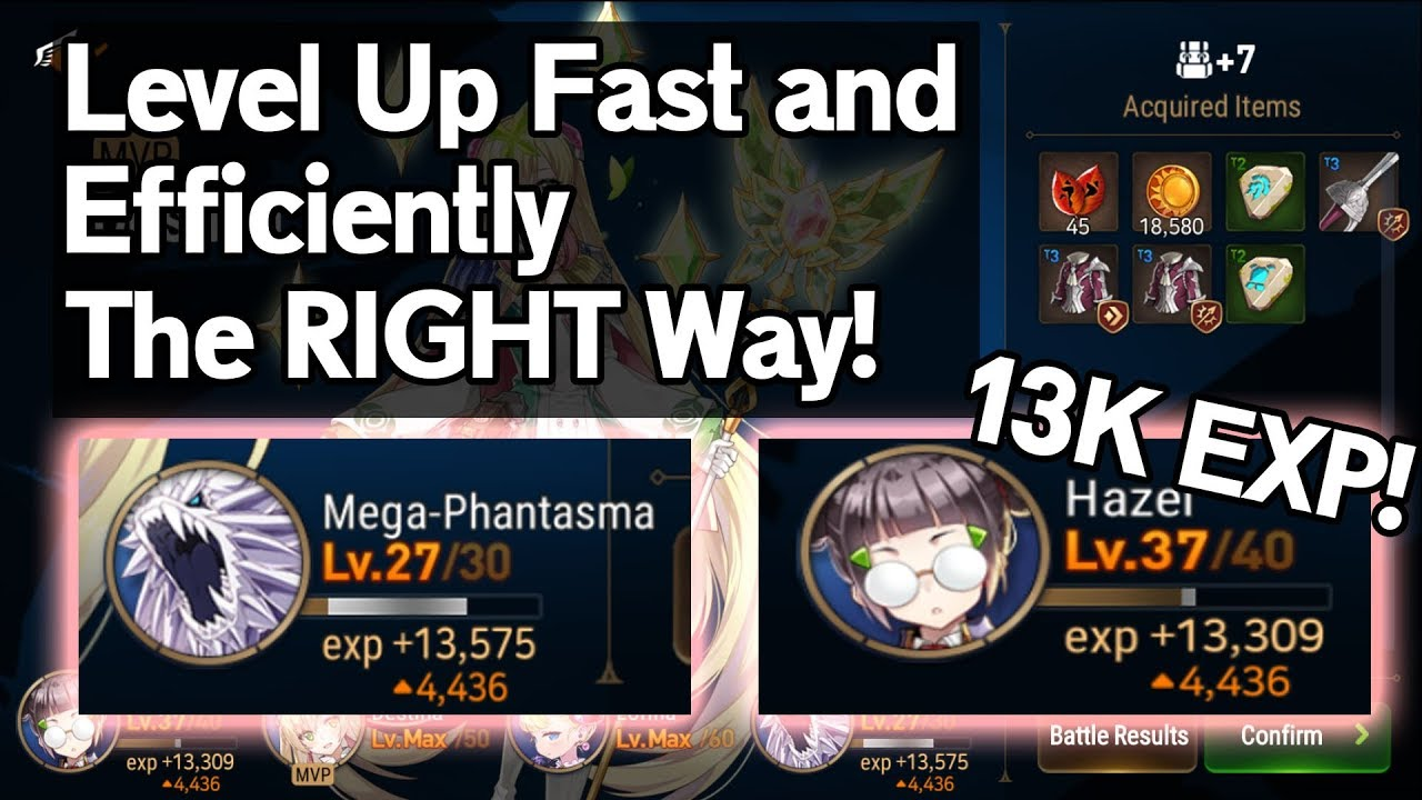 Epic Seven Best Leveling Method Stages Guide Gachazone